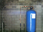 Installation of Arsenic Specific Water Filter by Environmental Services Ireland